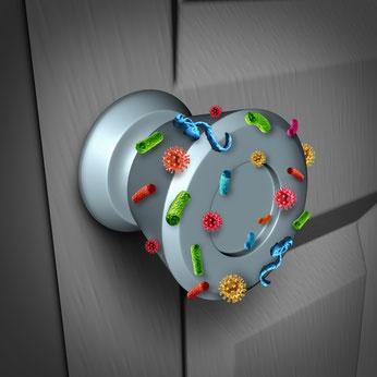nanoenergy Viren und Bakterien